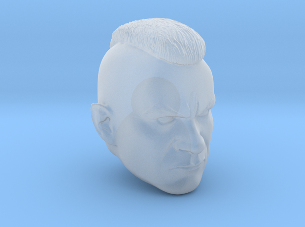Mohawk Trooper for 6 inch in Smooth Fine Detail Plastic