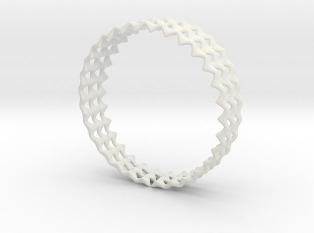Ring 35 in White Natural Versatile Plastic