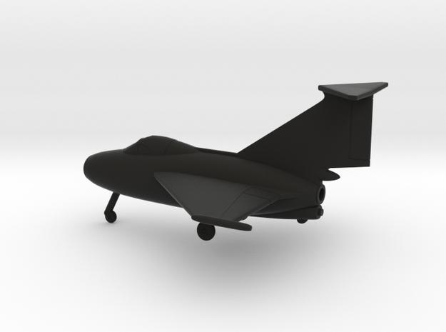 Fairey FD.1 Delta I in Black Natural Versatile Plastic: 1:144