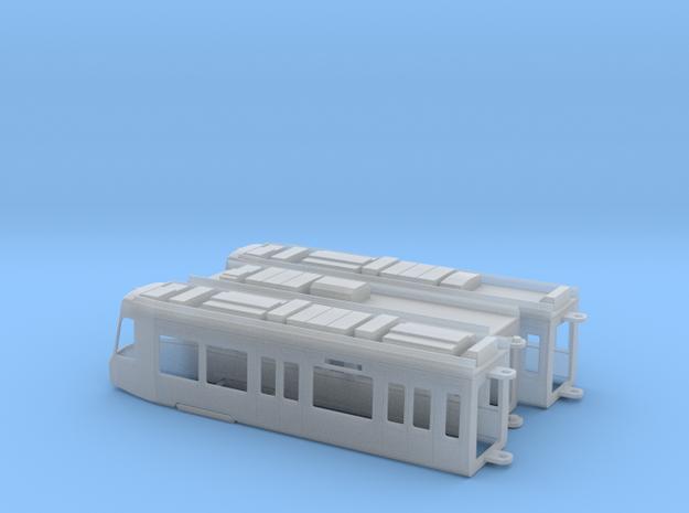 Sheffield Supertram Citylink in Smooth Fine Detail Plastic: 1:120 - TT