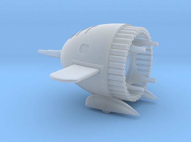 Flash Gordon Ship Part 1 - Nose in Smooth Fine Detail Plastic