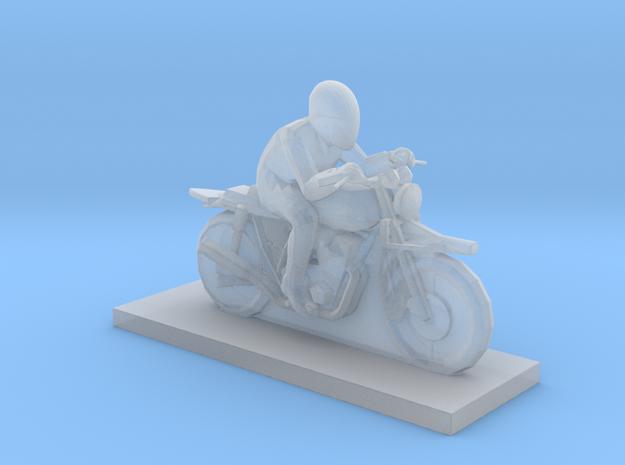 Biker - V2 in Smooth Fine Detail Plastic