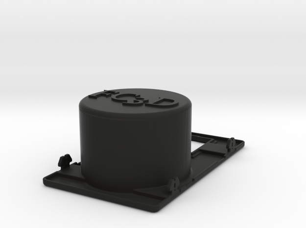 Cup Holder Mirror Only in Black Natural Versatile Plastic