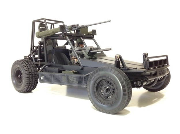 FA30004 Desert Patrol Vehicle Side Racks