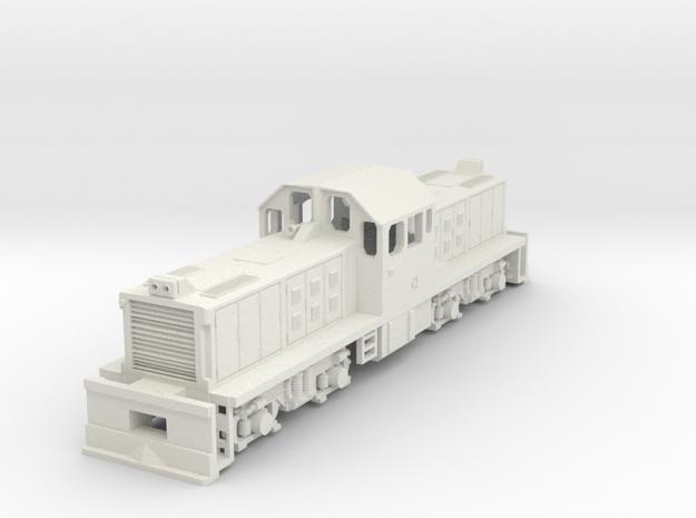1:76 Scale KIWIRAIL DSG in White Natural Versatile Plastic