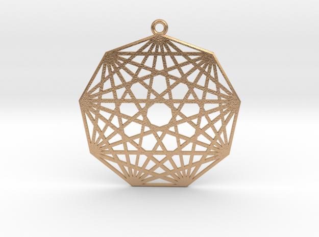Ennea-Matrix in Natural Bronze