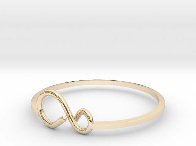 11infinitybangle (1) in 14k Gold Plated Brass