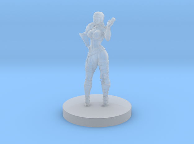 Barb 32mm Mini in Smoothest Fine Detail Plastic: Small