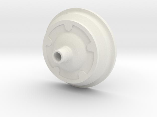1:8 Wide Five Drum in White Natural Versatile Plastic