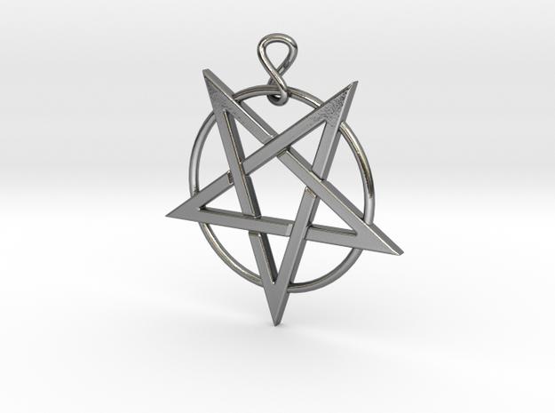pentloopinfinity in Polished Silver