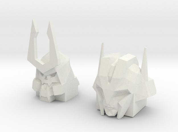 {EARLY BIRD DISCOUNT} Bludgeon/Slipstream Heads 2- in White Natural Versatile Plastic