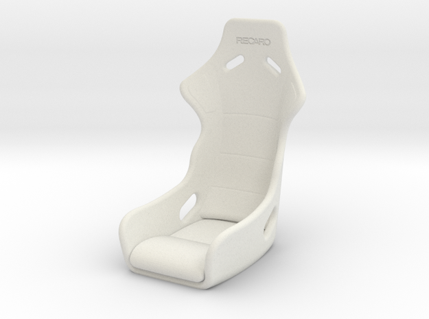 Vanquish Ripper - Seat in White Natural Versatile Plastic