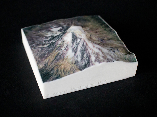 Mt. Adams, Washington, USA, 1:100000 Explorer in Full Color Sandstone