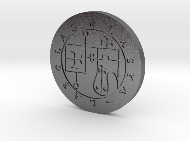 Glasya-Labolas Coin in Polished Nickel Steel