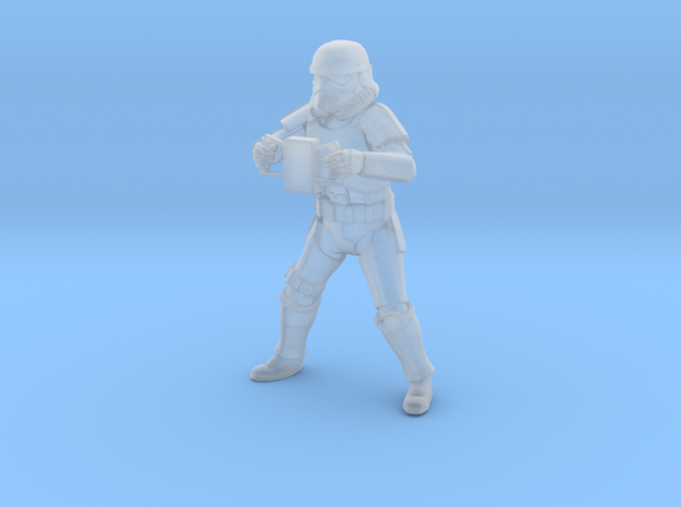 Imperial Ordnance Gunner in Smoothest Fine Detail Plastic