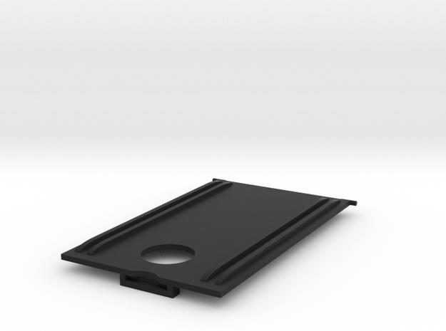 Tyco Eliminator Battery Door in Black Natural Versatile Plastic