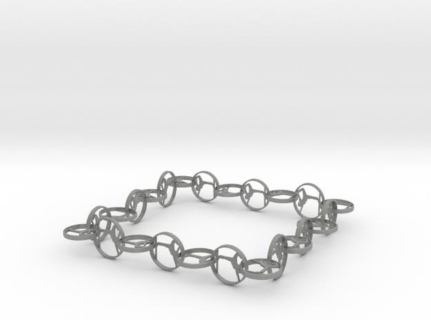 Yoga jewelry bracelet in Gray Professional Plastic