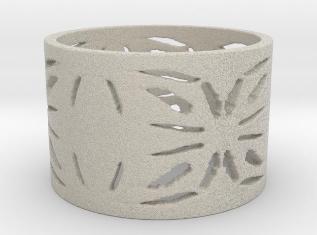Native Treasure Ring  in Natural Sandstone: 6 / 51.5