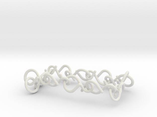 11 infinity bracelet (2) in White Natural Versatile Plastic