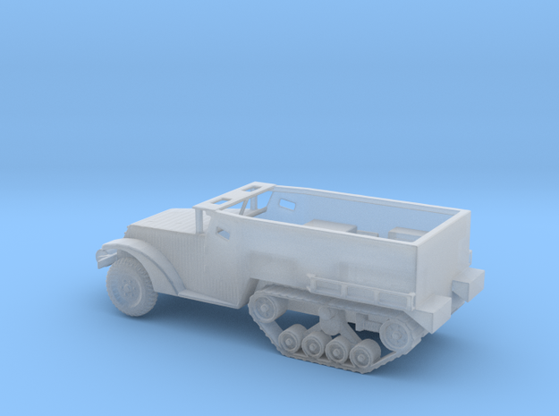 1/144 Scale M2 Halftrack in Smooth Fine Detail Plastic