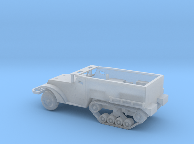 1/87 Scale M2A1 Halftrack in Smooth Fine Detail Plastic