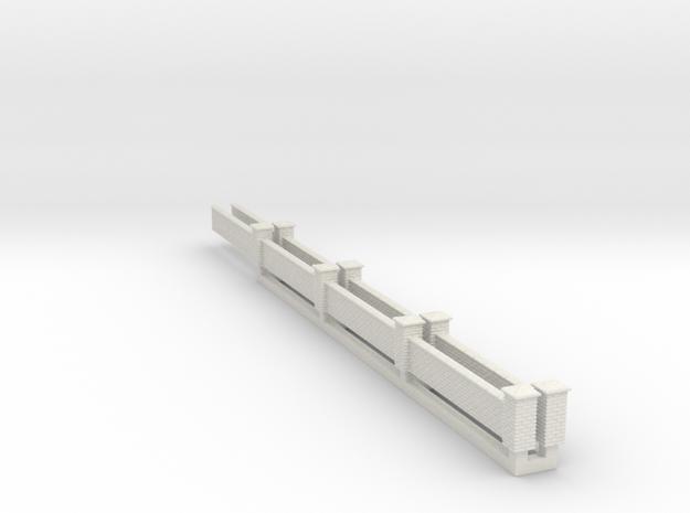 N - 1:148 - Wall With Pillars x2