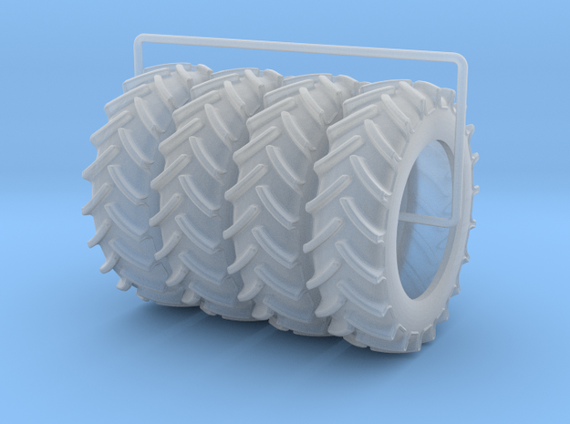 520-85R42 4-Pack in Smooth Fine Detail Plastic