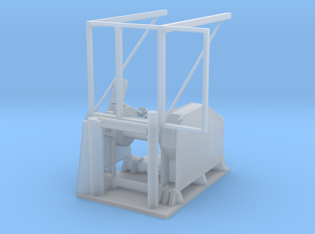 Tuggerwinch in Smooth Fine Detail Plastic