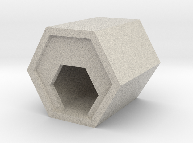 房中房 Home in home in Natural Sandstone: Medium