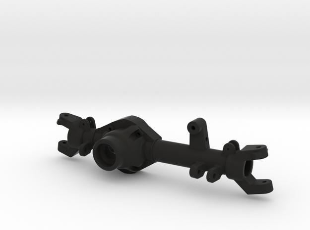TMX Delta 44 Front Axle-Left Side in Black Natural Versatile Plastic