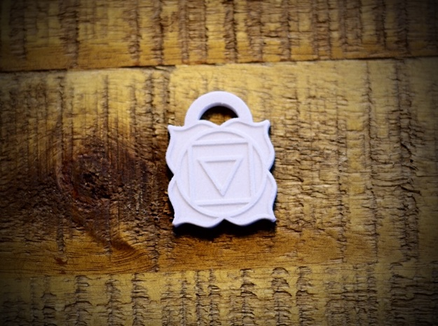 Root Chakra Aromatherapy Pendant in Natural Sandstone