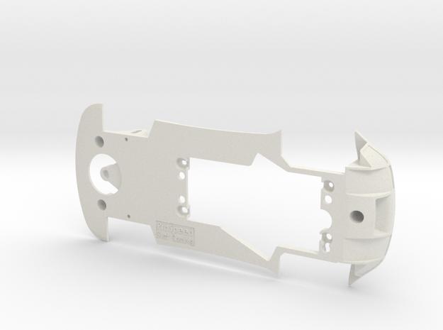 PSCA00801 Chassis for Carrera Aston Martin Vantage in White Natural Versatile Plastic