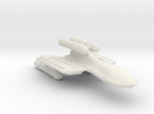 3125 Scale Romulan GryphonHawk Heavy War Cruiser in White Natural Versatile Plastic