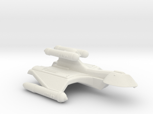 3788 Scale Romulan GryphonHawk+ Heavy War Cruiser in White Natural Versatile Plastic