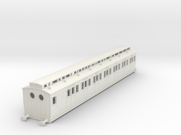 o-87-ner-d116-driving-carriage in White Natural Versatile Plastic