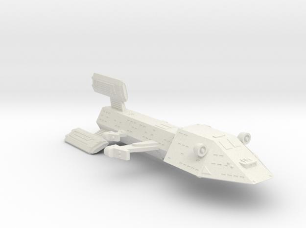 3125 Scale Kzinti Light Dreadnought (DNL) SRZ in White Natural Versatile Plastic