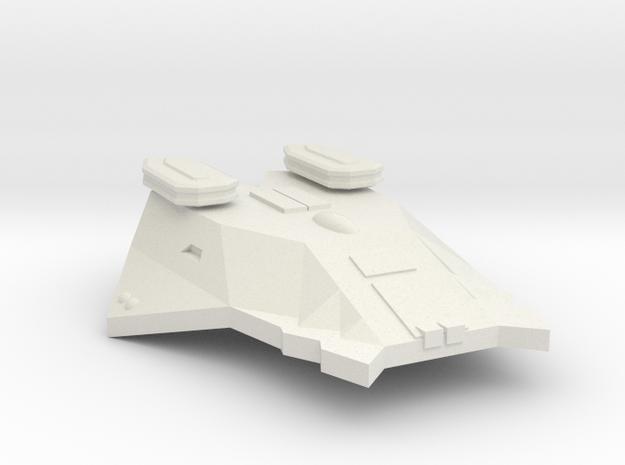 3788 Scale Zosman Destroyer (DD) MGL in White Natural Versatile Plastic