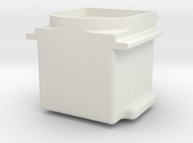 AARTruckJournalv4 in White Natural Versatile Plastic