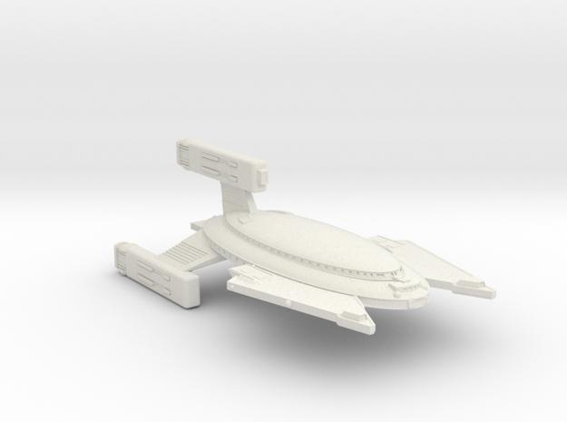 3788 Scale Vudar War Destroyer (DW) MGL in White Natural Versatile Plastic