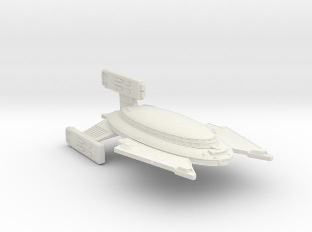 3125 Scale Vudar War Cruiser (CW) MGL in White Natural Versatile Plastic