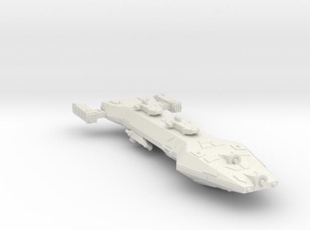 3788 Scale Hydran Horsemaster Gunboat/PF Tender CV in White Natural Versatile Plastic