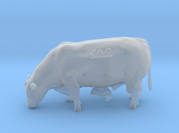 1/64 Grazing Polled Bull- Mature in Smooth Fine Detail Plastic