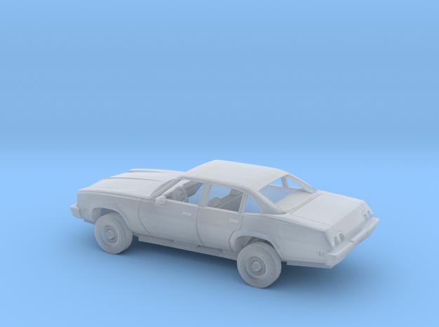 1/72 1973 Chevrolet Chevelle Sedan Kit in Smooth Fine Detail Plastic