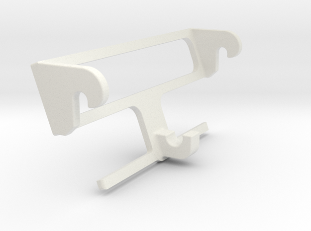 Wikinghalter Adapter in White Natural Versatile Plastic