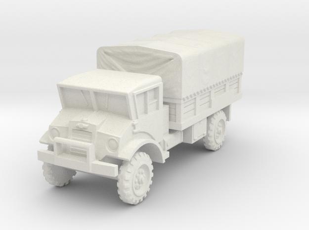 Chevrolet CMP 3t scale 1/72 in White Natural Versatile Plastic