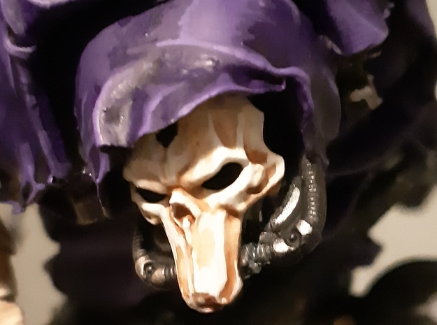 Death Mask Imperial Knight Scale  in Smoothest Fine Detail Plastic