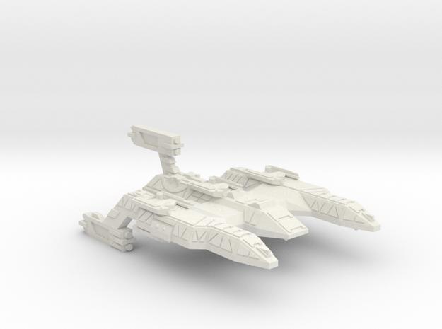 3788 Scale Lyran Refitted Battle Control Ship CVN in White Natural Versatile Plastic
