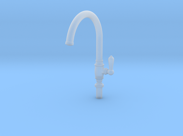 Single Traditional Faucet in Smooth Fine Detail Plastic