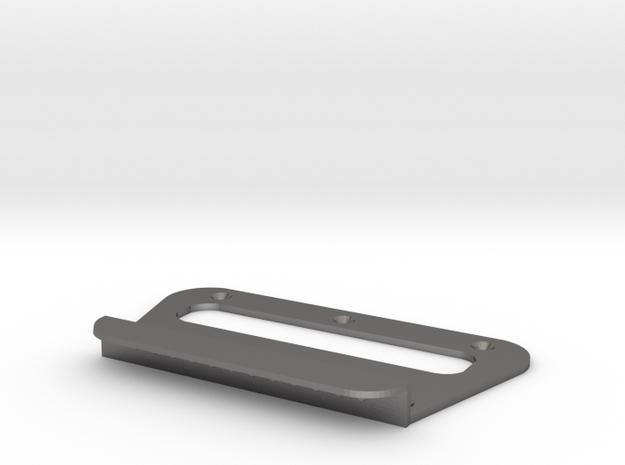 xii bridge plate in Polished Nickel Steel