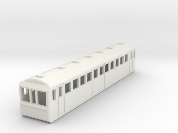 U-Bahn New York Spur N Scale 1:160 in White Natural Versatile Plastic